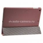 Кожаный чехол для iPad Air Melkco Leather Case Slimme Cover Ver.1, цвет Pink LC