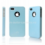 Чехол для iPod touch 4G iCover Rubber, цвет Blue (IT4-RF-BL)