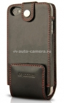 Кожаный чехол для iPhone 4/4S BeyzaCases Multi Flip Case, цвет black (BZ19304)